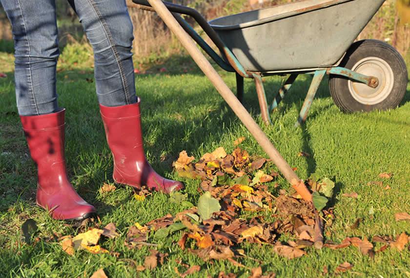 Wir machen den Garten winterfit!