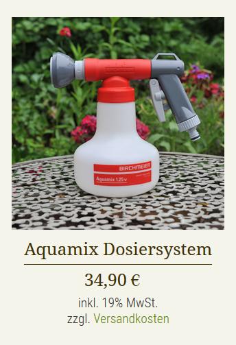 Aquamix-Produkt