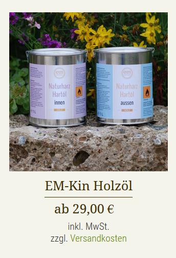 EM-Holzöl