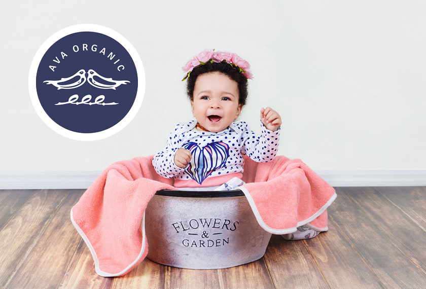 EMLeben – EMLeute AVA Organic – Baby-Gewand mit EM-Keramik