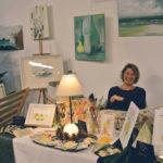 Regine Noller aus Söchtenau mit Aquarellmalerei