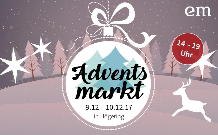 Adventsmarkt im Dezember bei EM-Chiemgau