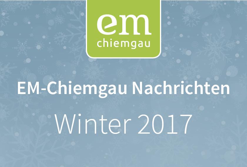 Chiemgau Nachrichten – Winter 2017