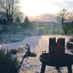 Zauberhafte Stimmung im Garten von EM-Chiemgau
