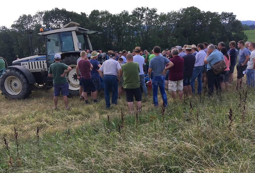 Bodenbearbeitung in der Regenerativen Landwirtschaft