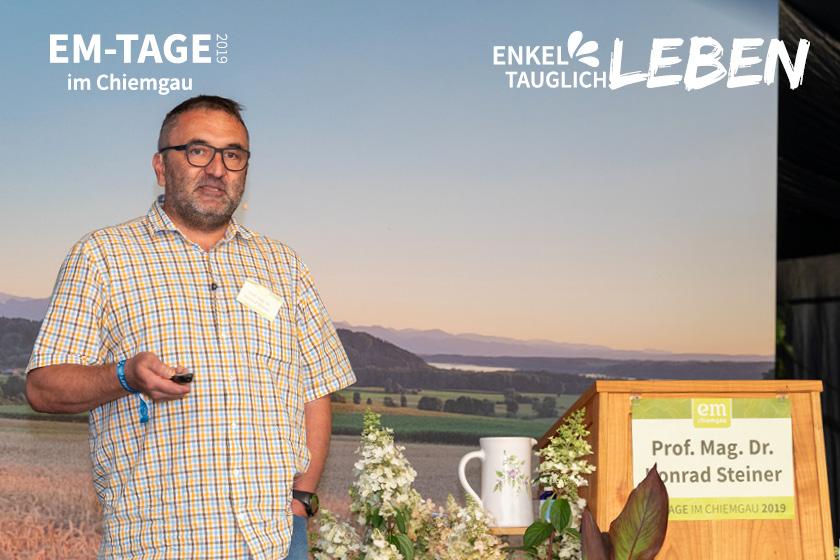 Prof. Mag. Dr. Konrad Steiner: Der Artenschutz gehört in Bauernhand