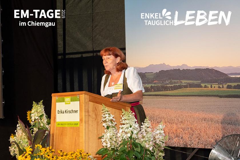 Erika Kirschner- Putzen mit EM und Begeisterung