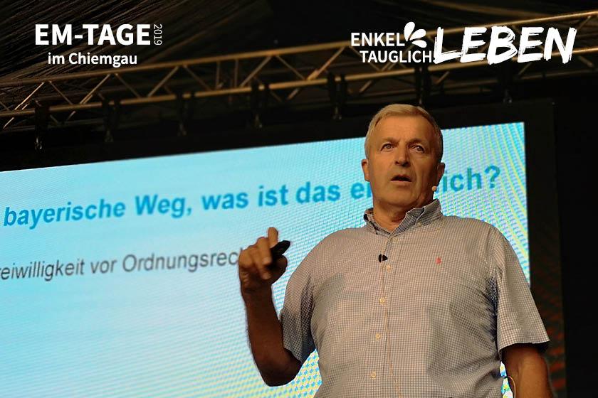 Hans Weinzierl: Grundwasserschutz ist nicht selbstverständlich!