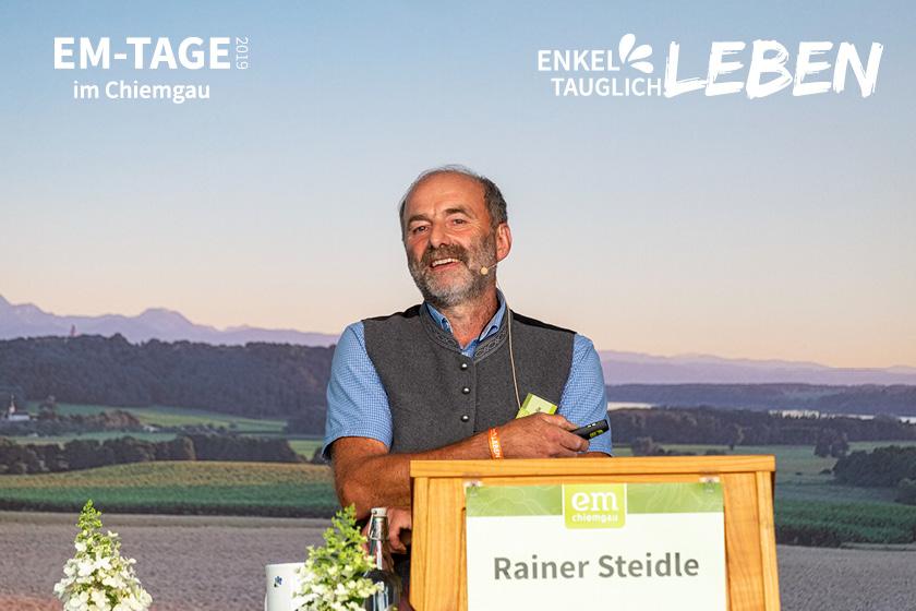Rainer Steidle: Der Fürsprecher für den Haus und Familiengarten