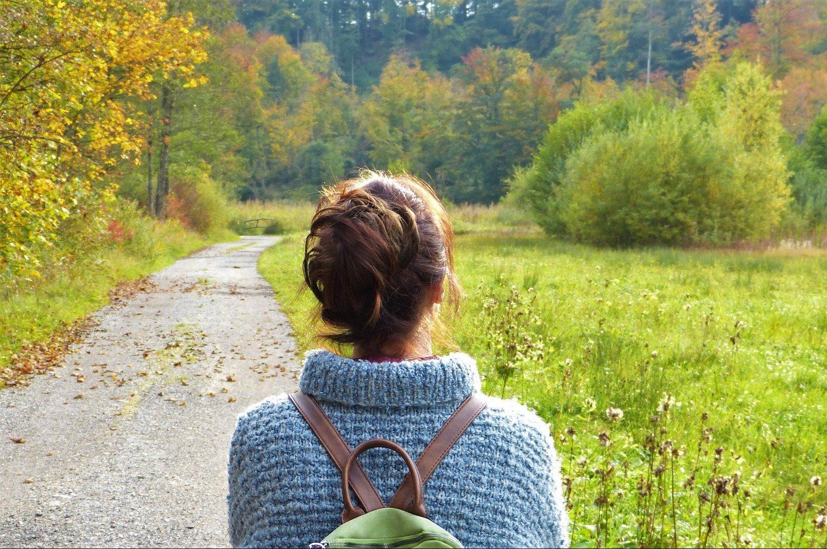 Immunsystem stärken - auch ein Waldspaziergang tut gut