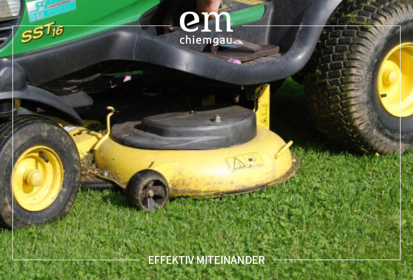 Rasenmäher zu Mulchmäher umbauen