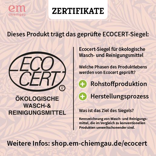 Ecocert Zertifizierung