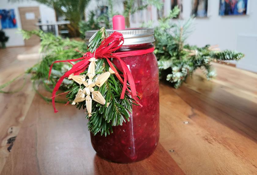 Fermentiertes Weihnachts-Blaukraut