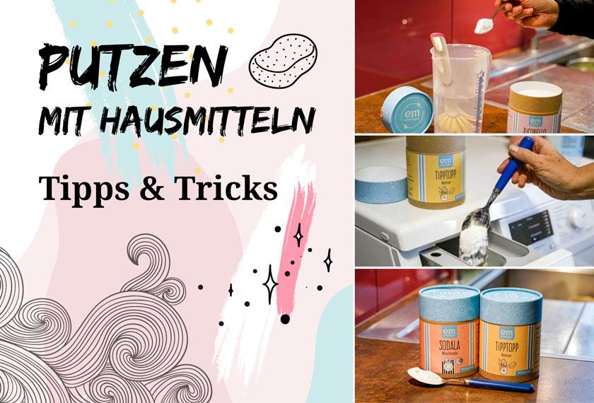 Hausmittel zum Putzen – Tipps & Tricks