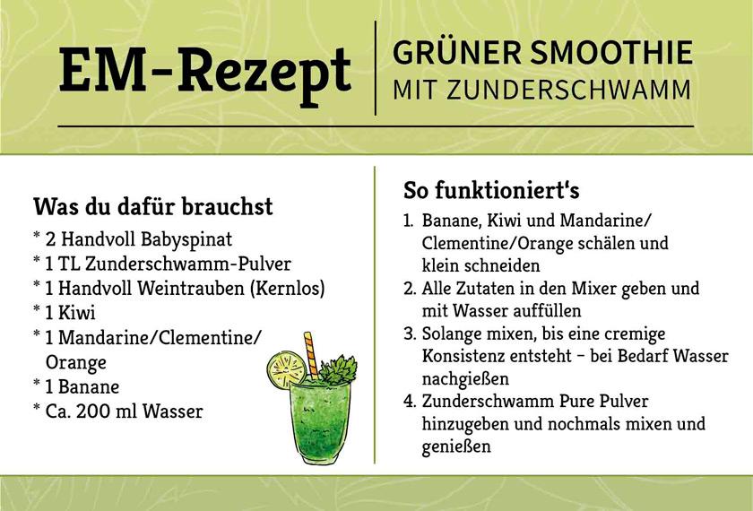 EM-Rezept-gruener-Smoothie-Zunderschwamm